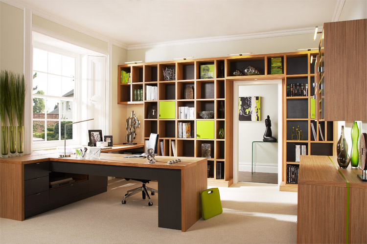 how to setup a professional looking home office